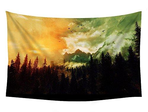The Elder Scrolls Skyrim, Landscape, Forest - Wall Tapestry