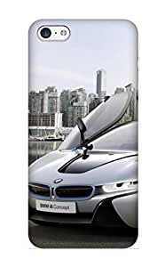 New Arrival Premium Iphone 5c Case Cover With Appearance (bmw I8 Open Doors)