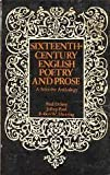 Sixteenth-Century English Poetry and Prose, Paul Delany and Jeffrey Ford, 0030851025