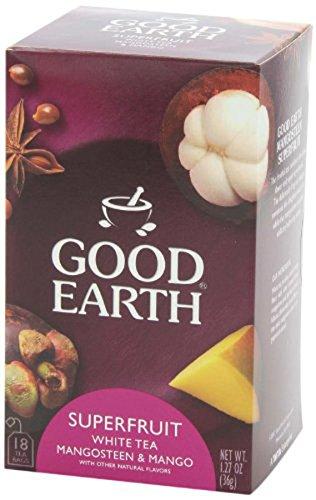 Good Earth Mango Me Crazy White Tea, 18 Tea - Earth White Tea Tea Good