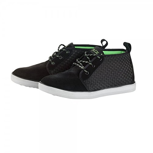 Boot Shoes Terni Men's Suede Black Black Dude Chukka W8ZwqT8Y