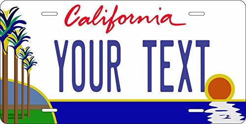 California Personalized License Plate Amazon Com