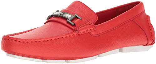 b4337168a31 Calvin Klein Men s Magnus Tumbled Leather Slip-On Loafer - Buy ...