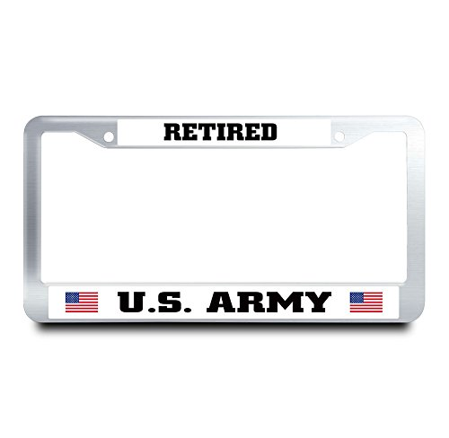 usaf retired license plate frame - 9
