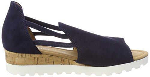Ankle Kork Sport Gabor Strap Blue Bluette Women's Comfort Sandals twqRaB