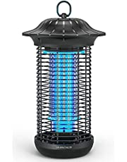 Sahara Sailor Bug Zapper for Outdoor and Indoor, 4000V Electric Weatherproof Pest Control Mosquito Zappers Killer Trap, Electronic Fly Insect Trap for Home, Garden, Backyard, Patio