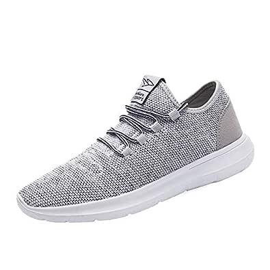Srenket Mens Tennis Shoes Gray Size: 8