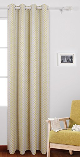 insulated yellow curtains - 2