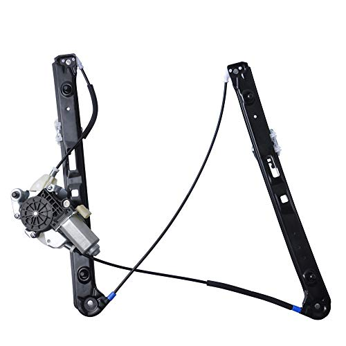 - OTUAYAUTO Window Regulator With Motor - For 1999-2005 BMW 3-Series E46, 320i 325i 325xi 330i 330xi 323i 328i - Front Left Driver Side, Replace OEM#: 51337020659