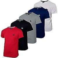 Kit Camisetas Básicas 5 Cores Polo RG518