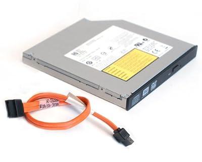 Genuine Dell DVD±RW DVD-RW CD/RW SATA Burner Optiplex 760, 780, 960, 980, 380, 580, 790 SFF Small Form Factor Slimline Slim Internal Optical Drive and SATA Cable from Dell Computers