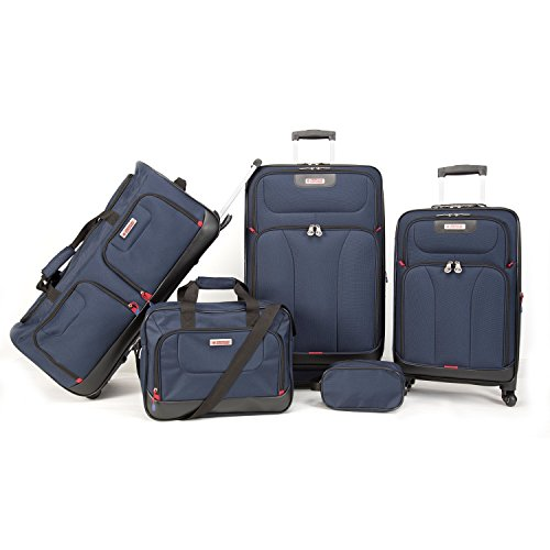 American Explorer Brand 5 Piece, Navy by American Explorer Brand
