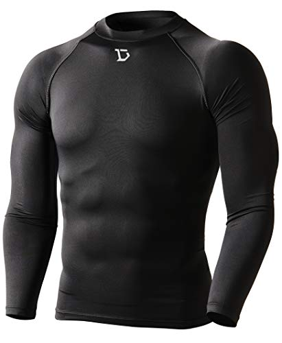 - Defender Men Compression T Shirt Under Hombre Tights Baseball BB_2XL