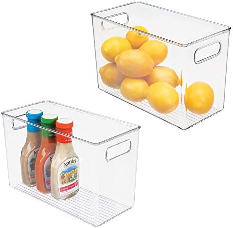 mDesign Plastic Storage Container Handles product image