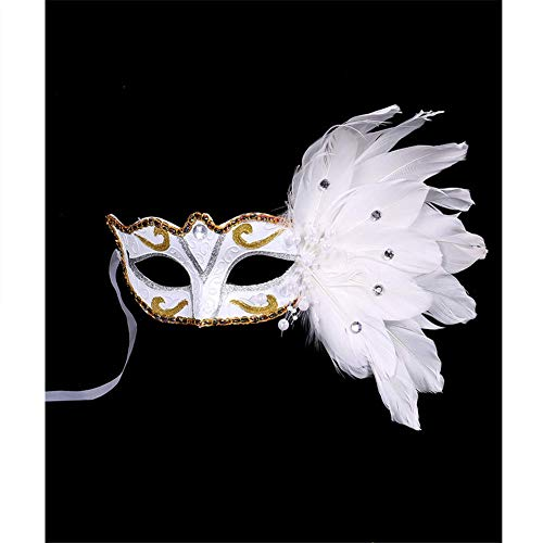 Ktv Bar Masquerade Halloween Christmas Feather Lady's Mask 4 -