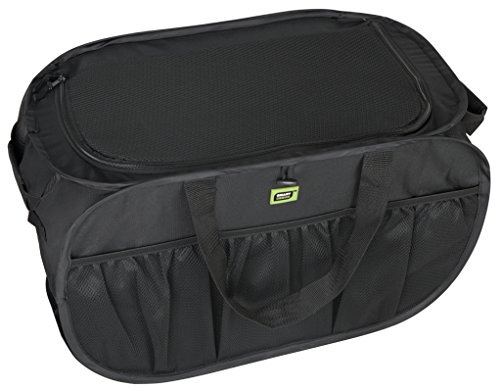 Pro Mart Smart Design Pop Up Trunk Organizer Black Import It All