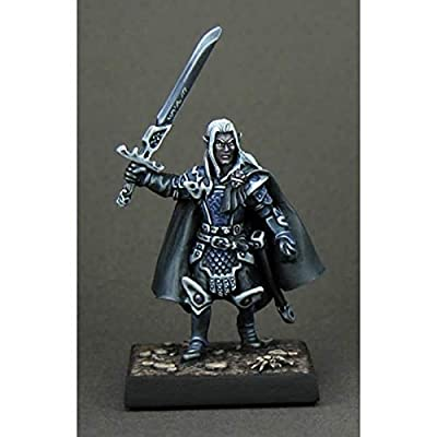 Reaper Miniatures Rath Nashanneth, Dark Elf #02506 Dark Heaven Unpainted Metal: Toys & Games