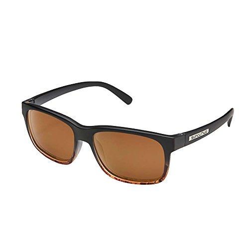 Suncloud Stand Polarized Sunglasses, Black Tortoise Fade, - Face Select Shape Frames Glasses