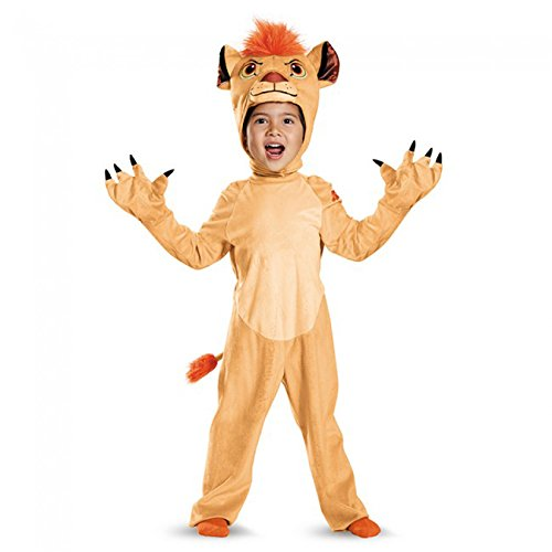 Kion Deluxe Toddler The Lion Guard Disney Costume, Medium/3T-4T - Zebra Costumes For Toddlers