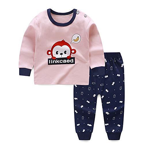 Meiju Baby pyjama voor jongens meisjes, herfst fruit dierenprint lange mouwen kleding set katoen unisex mooie…