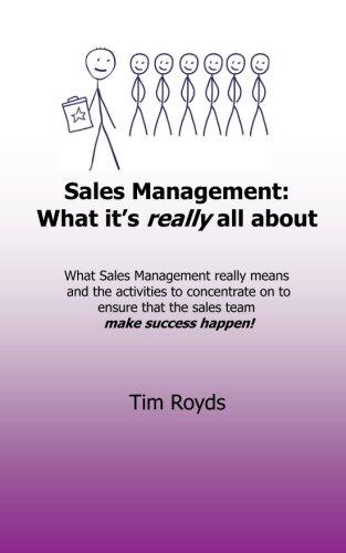Sales Management: What it