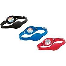 Power Balance Wristband - Set of 3 Energy Bracelets