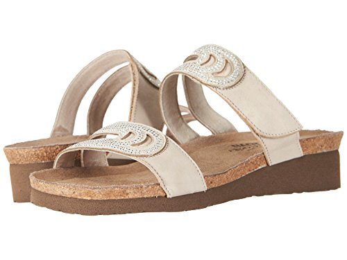 Ainsley Naot Slide Women's Sandals Beige qUAC5