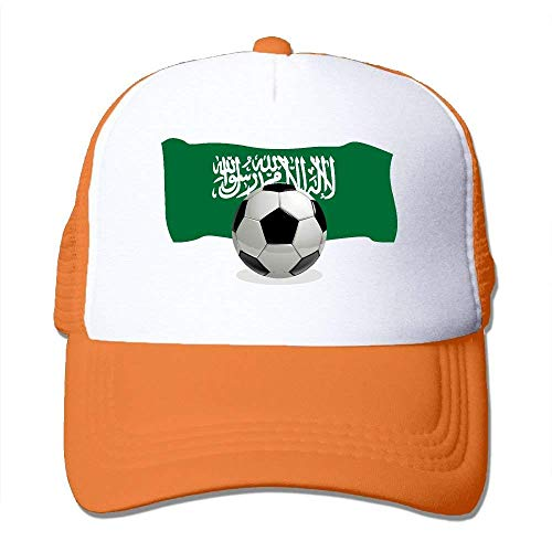 NDJHEH Ball Soccer Hat Gorras Flag with Adjustable Hat Trucker Tone Arabia Saudi béisbol Two Mesh r0xwrYSaq