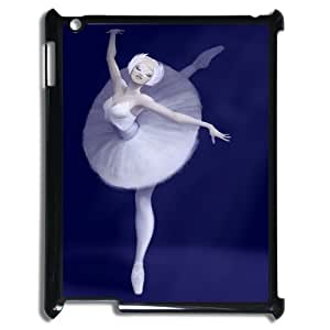 Chaap And High Quality Phone Case For Ipad 2/3/4 Case -Swan Ballet Dancing Pattern-LiShuangD Store Case 19