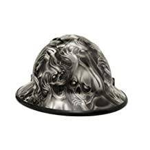 "HardHatGear Custom Hydro Dipped VENTED Full Brim Hard Hat in ""SEE NO EVIL"" - Made in USA ..."