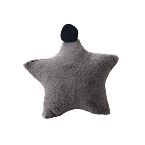 Baoblaze Soft Fibre Doll Toy Stuffed Star Shape Soft Bed Pillow Cushion Bolster Gift - - Deco Bolster