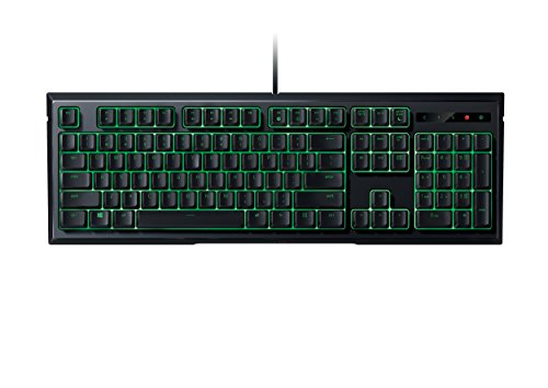 Razer Ornata Expert – Revolutionary Mecha-Membrane Gaming Keyboard with Mid-Height Keycaps - Wrist Rest - Ergonomic Design