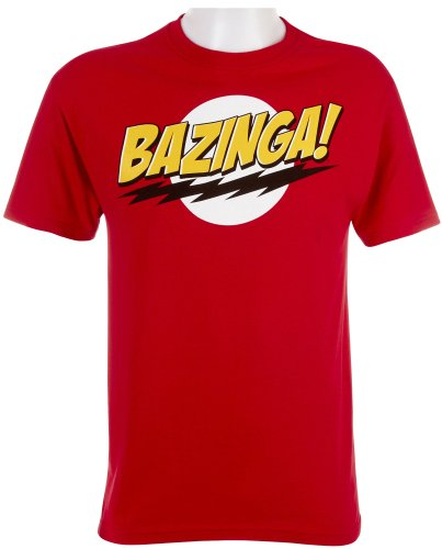 The Big Bang Theory Bazinga! Men's T-Shirt