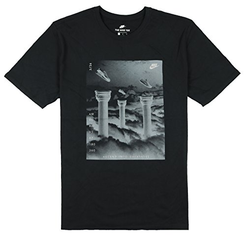 Nike Men's S+ Ascend Into Greatness T-Shirt Large Black
