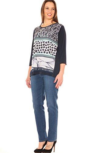 Jeans In Sigaretta Elastico Taglia Chiara Donna Stretch Dalba Morbida Denim Con 1yC65cqT