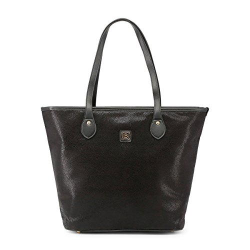 Biagiotti Genuine Black Laura Women Rrp Bag Shopping Designer dwwqU1Og