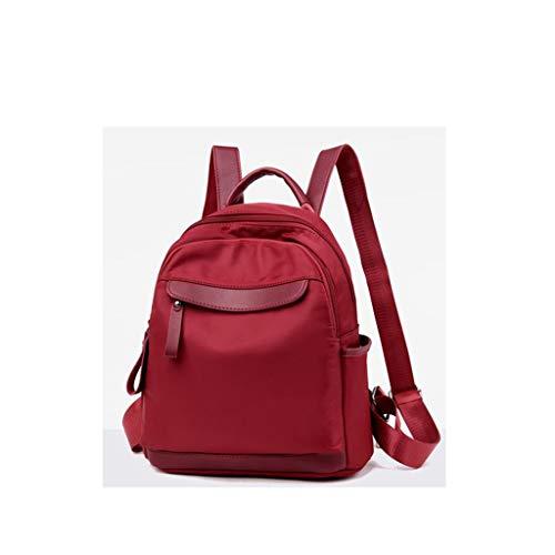 piccola colore dimensioni Fashion Oxford Nuova tela Lady femminile tessuto Qxjpz coreana Tide del 27x13x28cm versione Wild Rosso da della femminile Borsa nero Zaino viaggio PnwU1HqAn