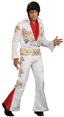 Halloween Costumes In Hawaii (Elvis Aloha From Hawaii Collector Jumpsuit Costume,)