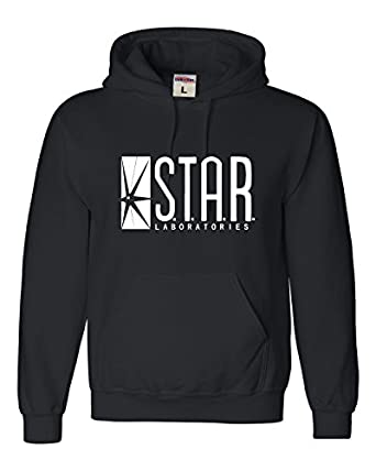 Amazon.com: Adult Star Labs Sweatshirt Hoodie by Go All Out®: Clothing