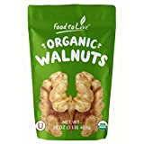Food to Live Organic Walnuts Shelled (Kosher, Bulk) — 1 Pound