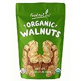 Raw Organic Walnuts, Kosher-16 ozs.