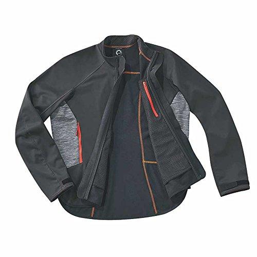 BRP SeaDoo Men's Windproof Element Riding Jacket Black (Medium)