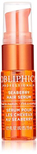 Obliphica Professional Fine to Medium Seaberry Serum, 0.5 Fl Oz (Best Hair Serum For Fine Hair)