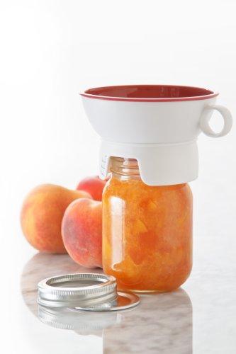 Prepworks by Progressive Canning Funnel for Regular and Wide Mouth Jars