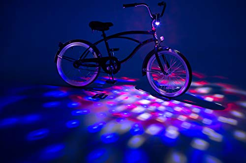 Brightz CruzinBrightz Blinking Tri-Colored LED Bicycle Accessory Light, Patriotic