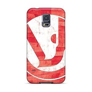 Samsung Galaxy S5 GPh15254uZUX Provide Private Custom HD Atlanta Hawks Series Bumper Cell-phone Hard Cover -ErleneRobinson