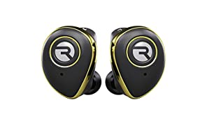 Raycon E50 Wireless Earbuds Bluetooth Headphones - Bluetooth 5.0 Bluetooth Earbuds Stereo Sound in-Ear Bluetooth Headset True Wireless Earbuds 25 Hours Playtime and Built-in Microphone Gold