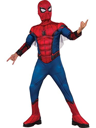 Rubie's Spider-Man: Homecoming Child's Deluxe Muscle Chest Costume]()