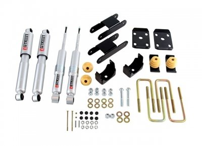 ing Kit with Street Performance Shock (2.5 Inch Rear Lowering Kit)