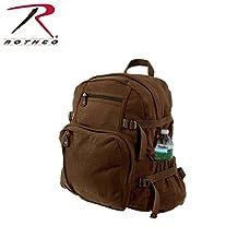Rothco Jumbo Vintage Brown Canvas Backpack
